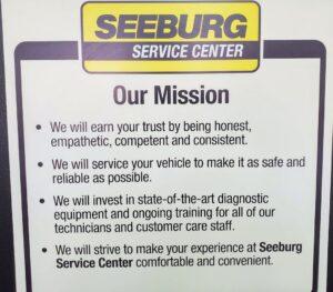 Seeburg Mission Statement Image